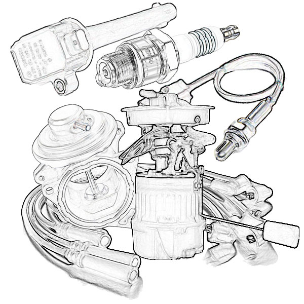 Fuel and ignition systems parts